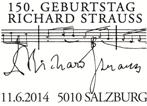 140611_5010 Salzburg 150 Geb Richard Strauss 45 x 30 mm_160x106jpg