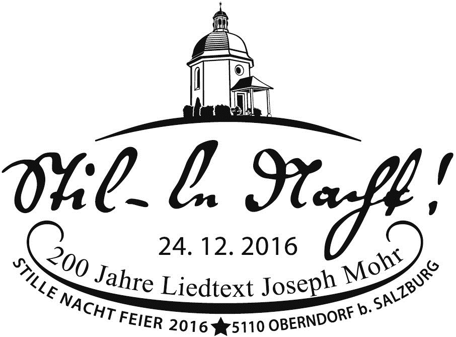 24122016 Sonderstempel 5110 Oberndorfjpg